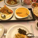 dinner at Gurkha Chef