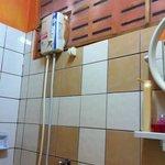 e' un piacere fare la doccia