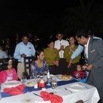 birthday celebration at pura vida