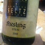 riesling one glass for € 6