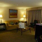 Main room of suite