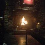 The Tyn's Charming Log Fire