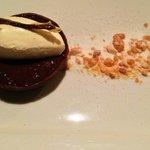 Salted Chocolate Tart and Peanut Brittle
