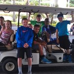 Goodbye tour around the resort - Saying Goodbye to new friends!