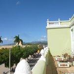 View from Iberostar Hotel balcony