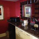 VIP suite kitchenette