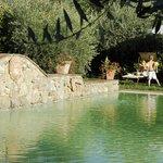 la piscina della locanda