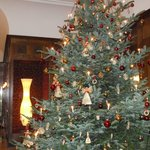 Lobby and Christmas Tree