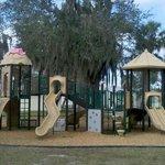 Nice playground area for children.
