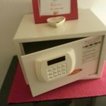 Digital Safety Box in every guest rooms.