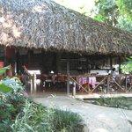 Restaurant auf der Hotelanlage La Aldea