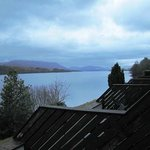 View from Mull lochside apt - Hotel Portsonachan