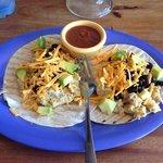 tasty breakfast tacos!