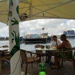 Vår favoritutsikt, Café Iguana.