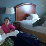 Comfortable beds. ( Optional Granddaughter ;-)