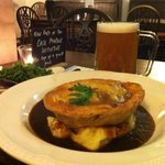 Steak & Ale Pie & a Pint £10