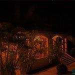 Villa Oasis at night (1 of 3)