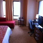 Marriott corner room