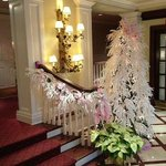 The Lobby decorations