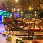 Pyramid Restaurant Night Inside