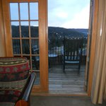View from King room in Falls Lodge