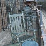 Falls Lodge King Room - Deck