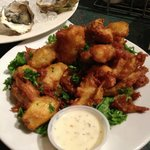 yum yum...fried artichoke hearts! don't miss them!