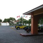 Entrance to hotel cozumel