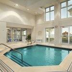 Indoor, Heated Cool-down Pool