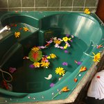 Bathtub at suite