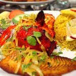 Tandoori Seafood Platter