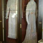 Varina Davis' Dresses in the relic room