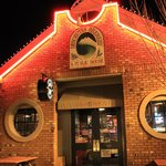 Deschutes Brewery & Public House at night