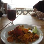 Paella and sangria!