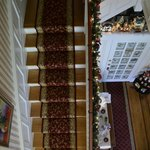A look down the stairs....
