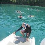 Snorkelling on Monkey island