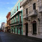 typical Old San Juan streetscape