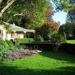 Relax in our two acre gardens