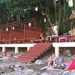 """The waterside """"Jamaican Bar"""" to watch sunset"""