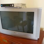 Very old TV set