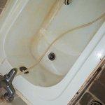 yummy dirty yellow bathtub