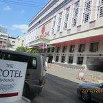 Entrance, facing the Ramada Hotel