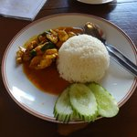 Penang curry chicken - Excellent