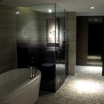 Executive Suite - Bathtub and Toilet