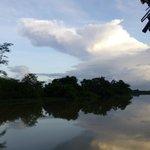 view along river