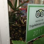 they better be joking. I will contact tripadvisor to remove it ASAP
