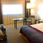 Hotel Pullman bedroom, MP Airport