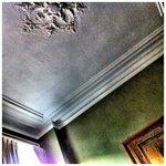 staren naar het plafond