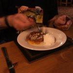 orange & almond tart