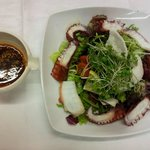 Octopus Salad with Spicy Citrus dressing